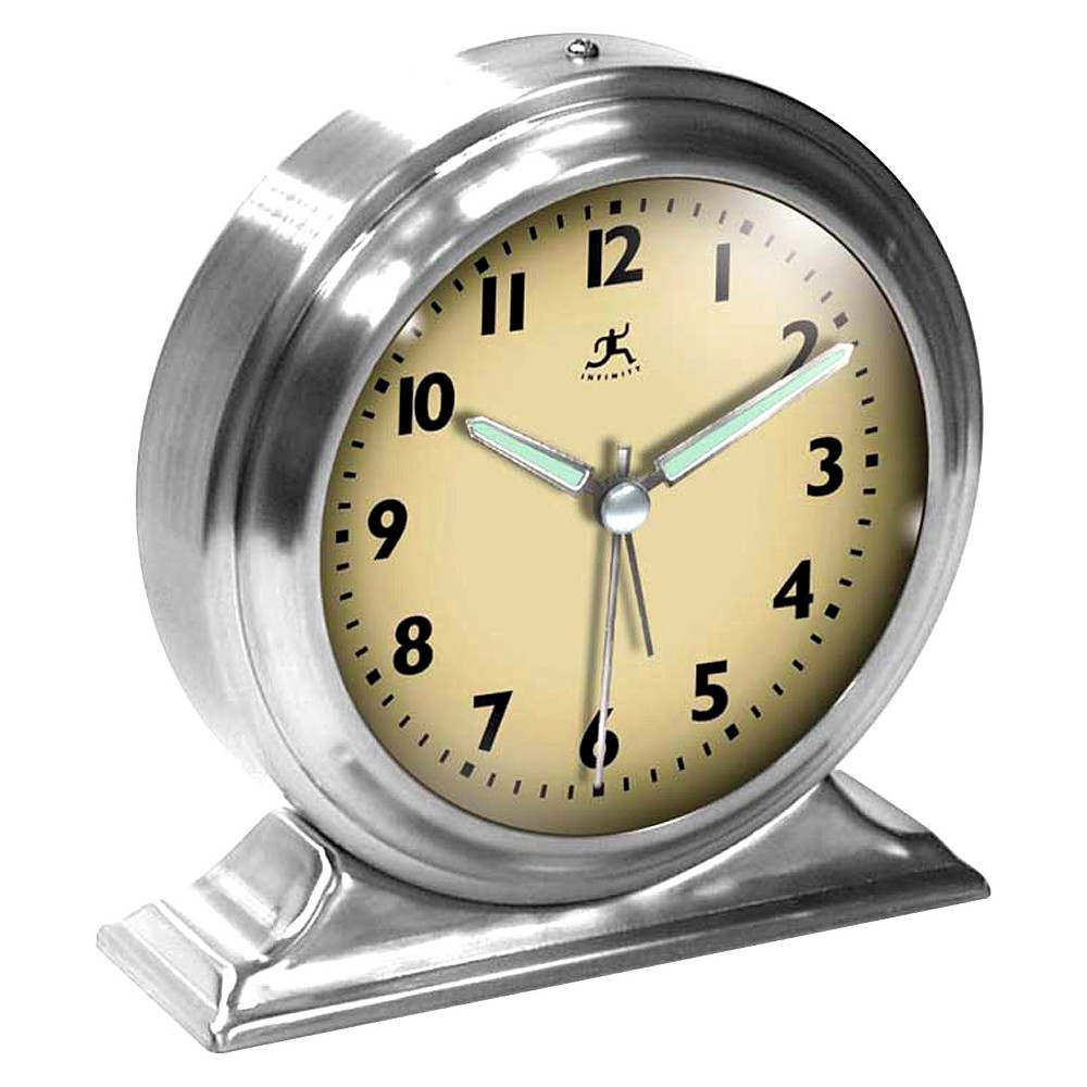 boutique table bell clock silver infinity instruments products rh pinterest com