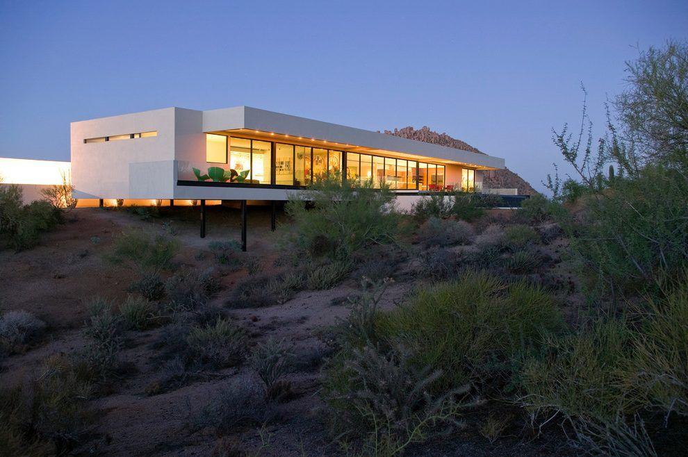 Modern stilt house design exterior modern with