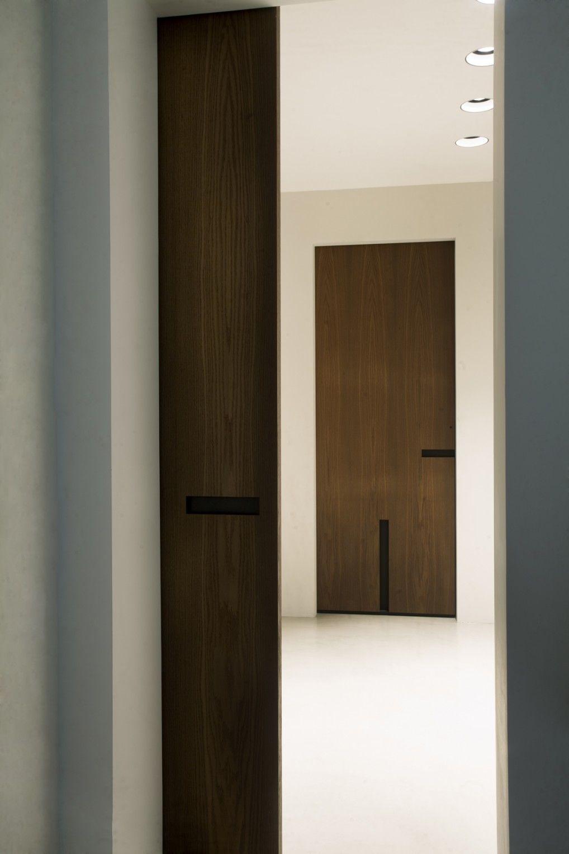 Hal met deuren van Bod'or - Model Oostzaan - Design by Piet Boon ...
