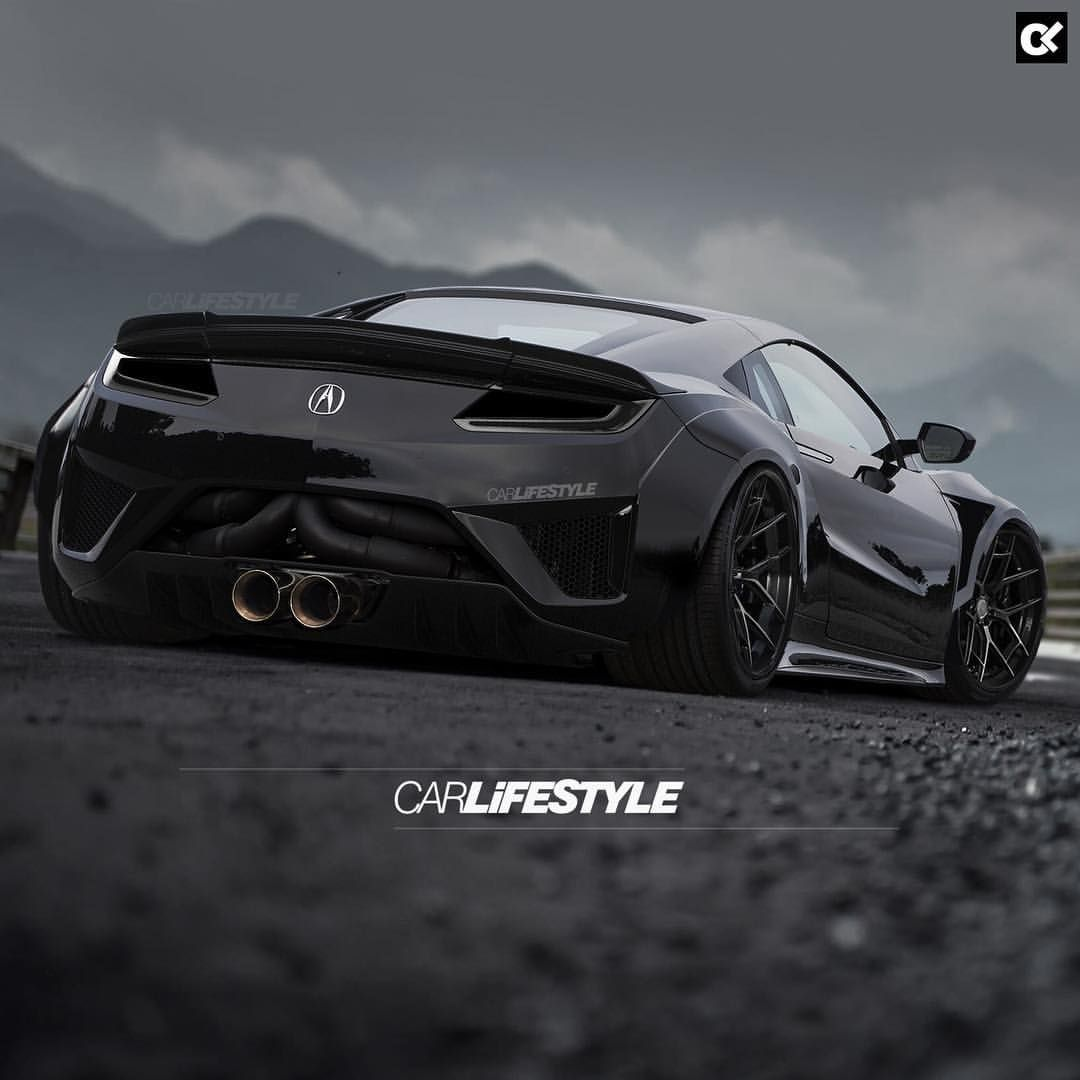 """CarLifestyle On Instagram: """"TRACK ️NSX [ Design By"""
