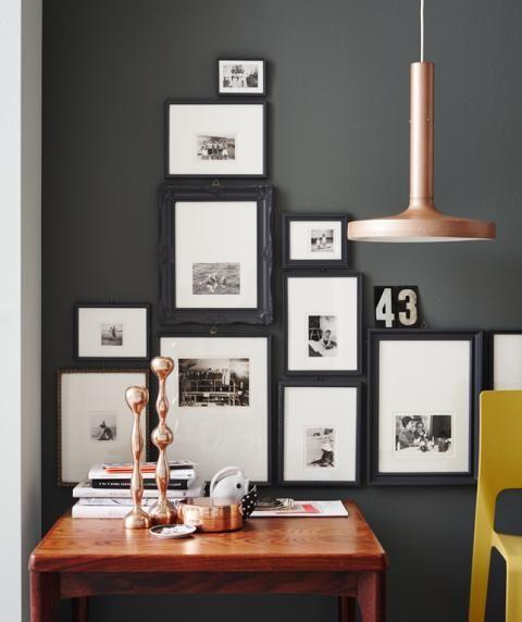 Fotowand Ideen Zum Gestalten Schoner Wohnen Einrichten Und Wohnen Wohnzimmer Wohnung Einrichten Tipps