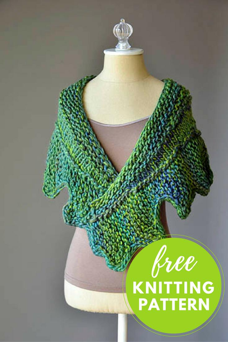 Cog shawlette free knitting pattern knitting patterns patterns cog shawlette free knitting pattern bankloansurffo Choice Image