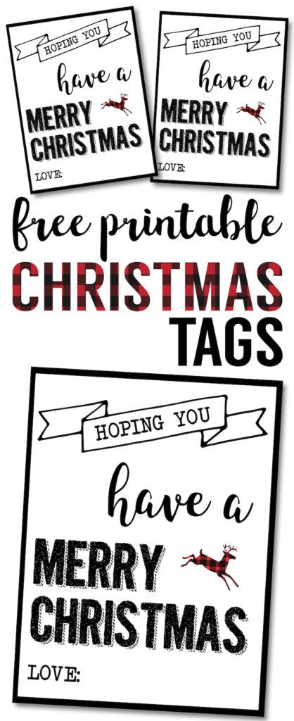 christmas labels printable free christmas gift tags printable rh pinterest com