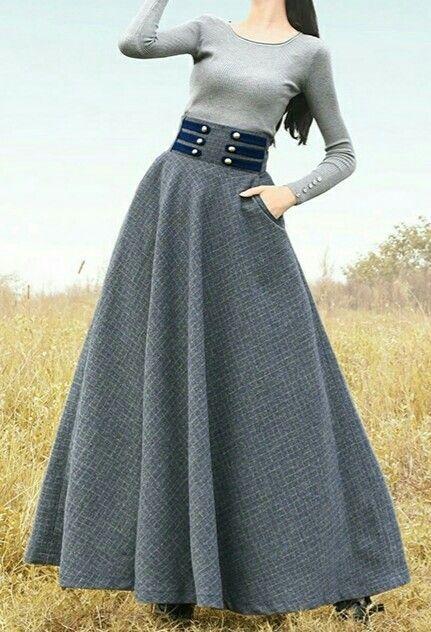 20 Long Skirts Trending Today