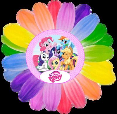 free my little pony party printables invitations table rh pinterest com