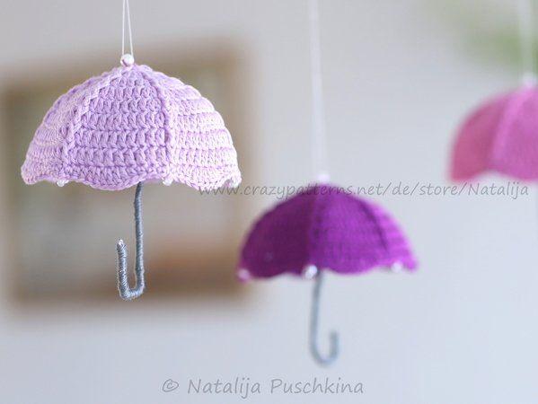 Photo of Häkeln Sie dekorativen Regenschirm // Herbstdekoration // PDF