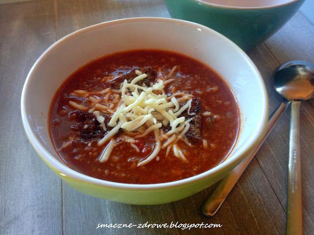 Zupa Taco Smaczne Zdrowe Food Tacos Zupa