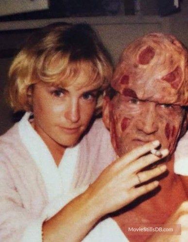 A Nightmare On Elm Street Behind The Scenes Photo Of Robert