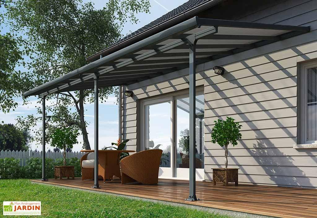 pergola aluminium patio grise 300x610