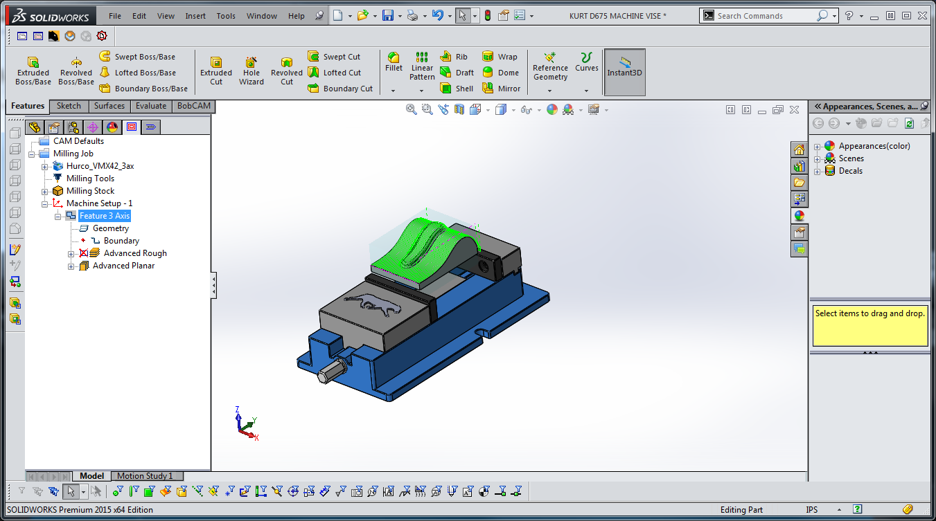 Pin by BobCAD-CAM on Integrated CAM for SOLIDWORKS | Cnc