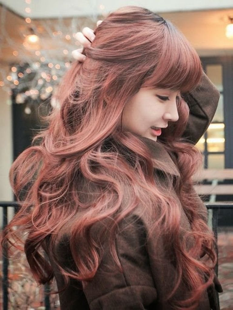 Top 10 Best Hair Color Trends For Women This Year Topteny Com Gaya Rambut Asia Rambut Keriting Panjang Rambut