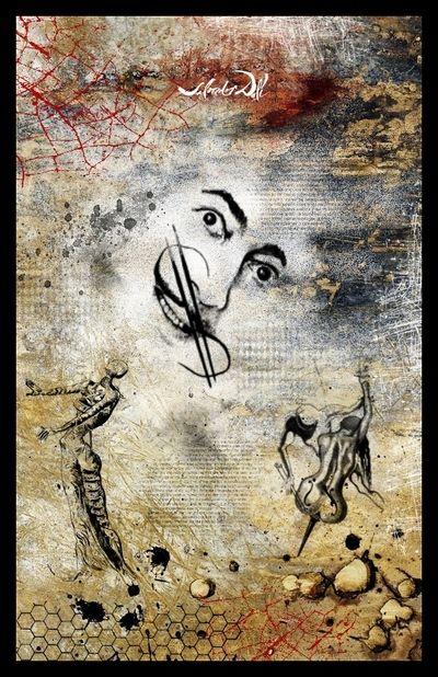 Blog de artscreatifs :arts creatifs, mixed média: art journal sur le thème de l'art, dali
