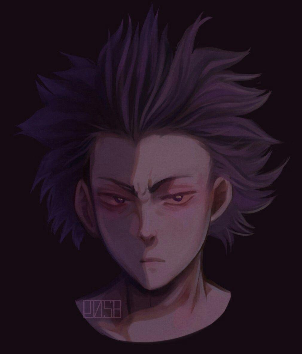 Shinsou Hitoshi Anime Fan Art Anime Boy