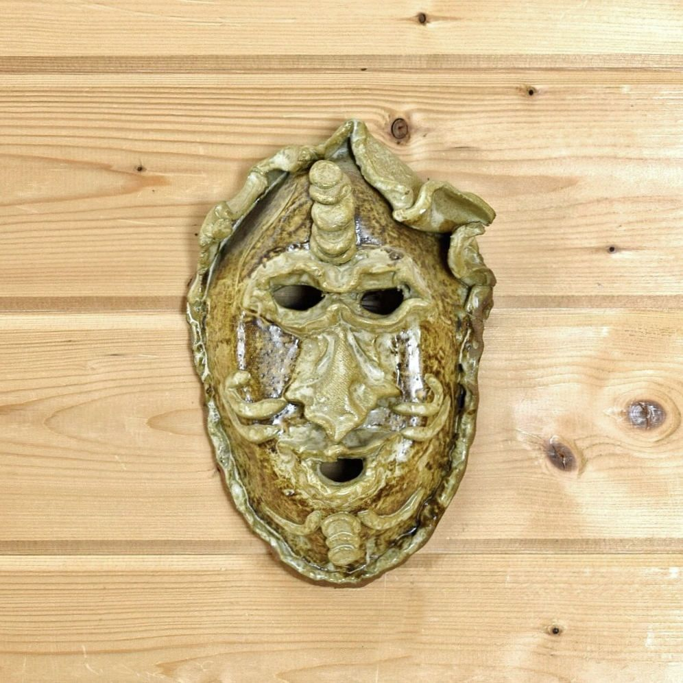 Ceramic Mask - SW5037 - Wall Art by SafariworksDecor on Etsy ...