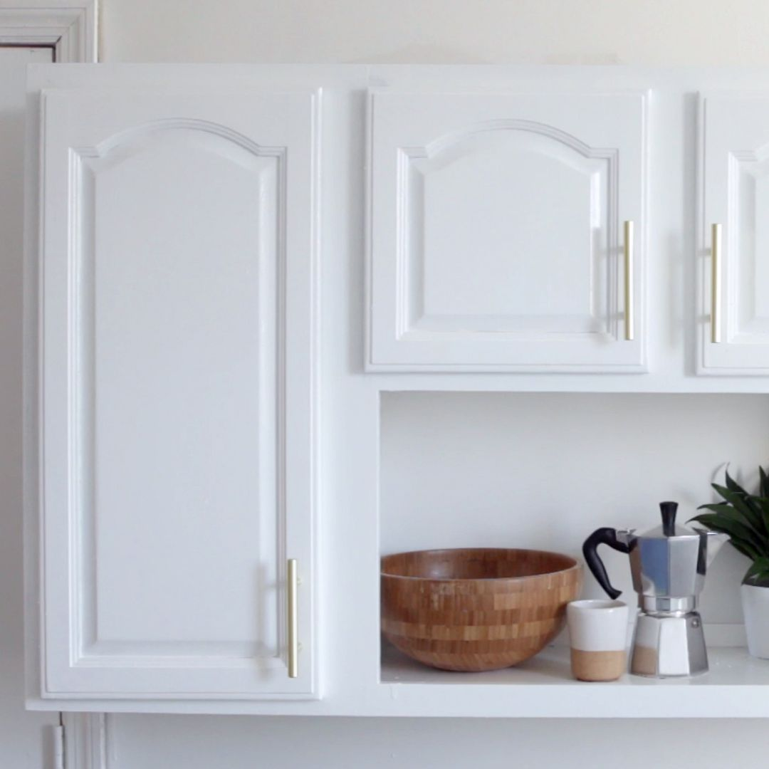 Your kitchen cabinets will look brand spanking new with these easy