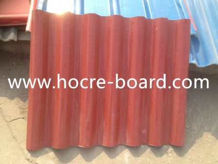 5mm Heat Insulation High Strength Mgo Roofing Tiles Magnesium Oxide