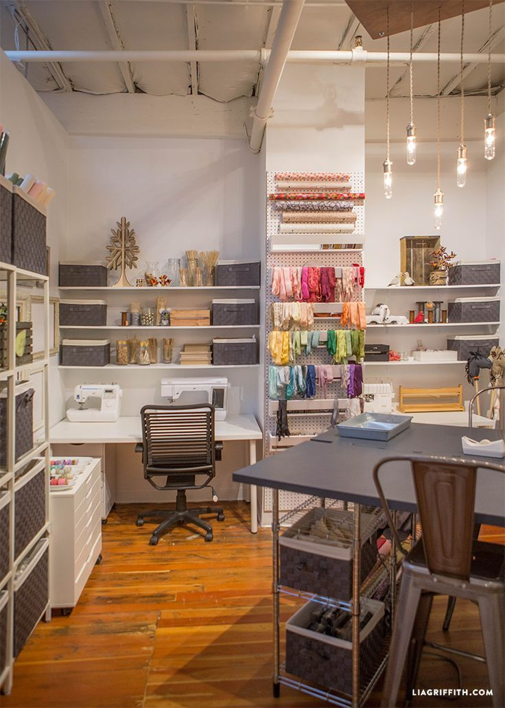 Looking for gorgeous inspiring craft room ideas