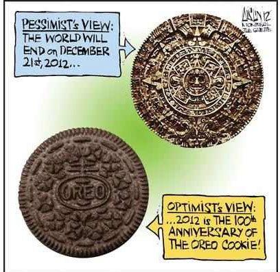 Oreo Cookie Mayan Calendar