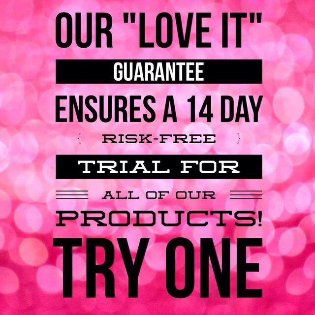 """Our """"love it"""" guarantee"""