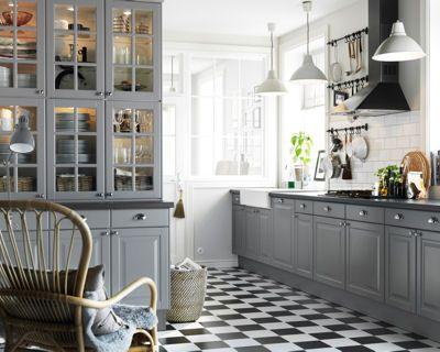 Avant de vous lancer dans l'installation de votre cuisine équipée, aidez-vous de notre sélection de modèles classiques et contemporains.