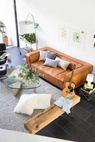 Pin Von Sofa Einrichtung Auf Design Sofa Leder / Moderne Couch