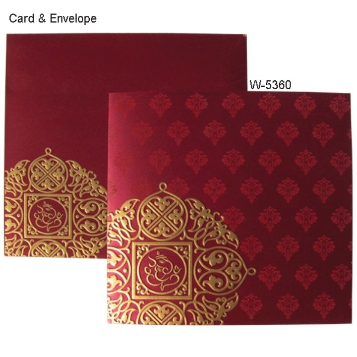 wedding card invitation cards online%0A Gold and Maroon Wedding Invitations