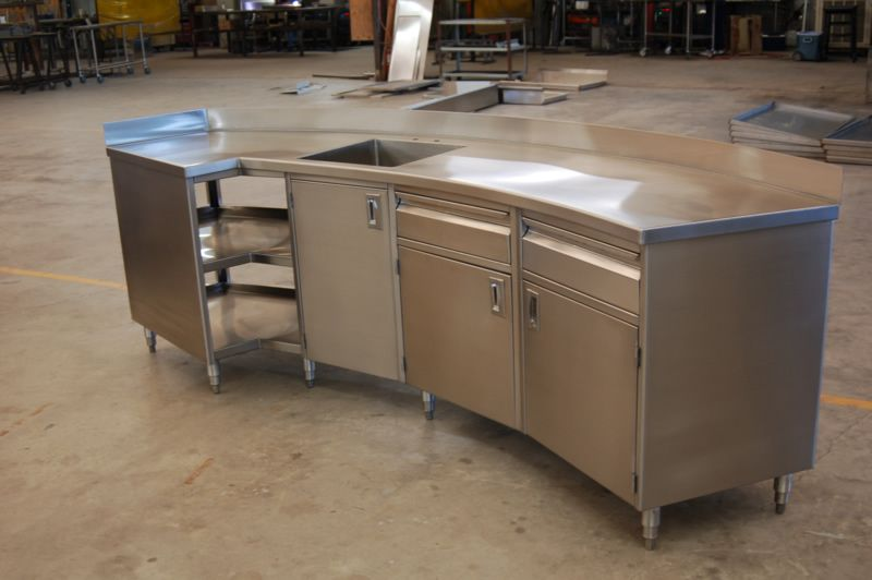Stainless Steel Kitchen Work Table Shaped Kitchen Business Ideas