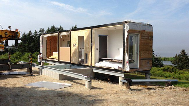 Meka Reinvents Shipping Container Housing Container House Design
