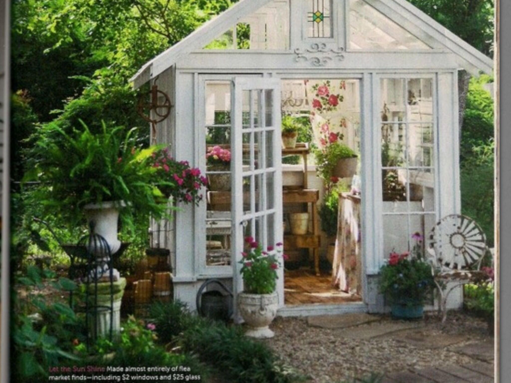 Garden Shed I Want One