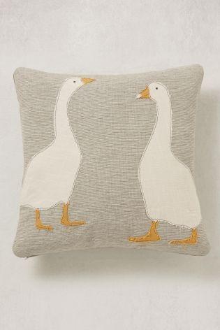 buy appliqu geese cushion from the next uk online shop sitting rh pinterest com