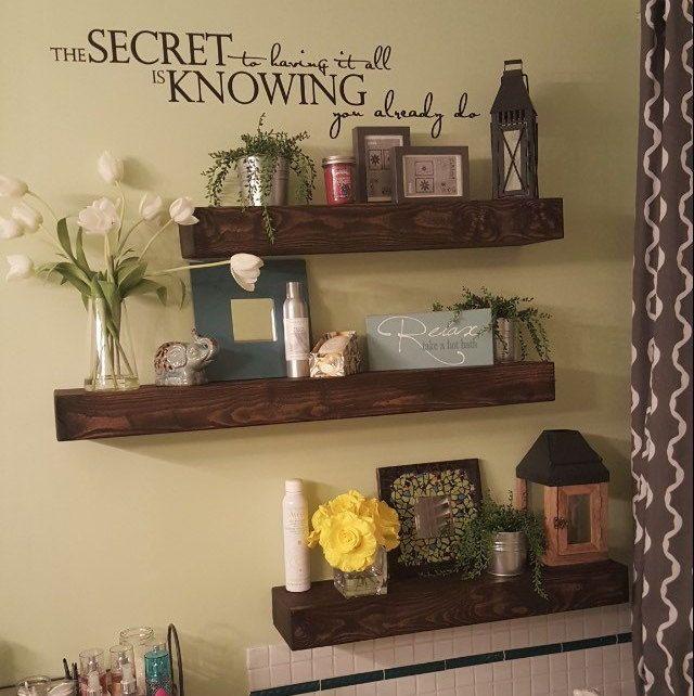 50 diy floating shelves that looks modern and have good storage rh pinterest co uk