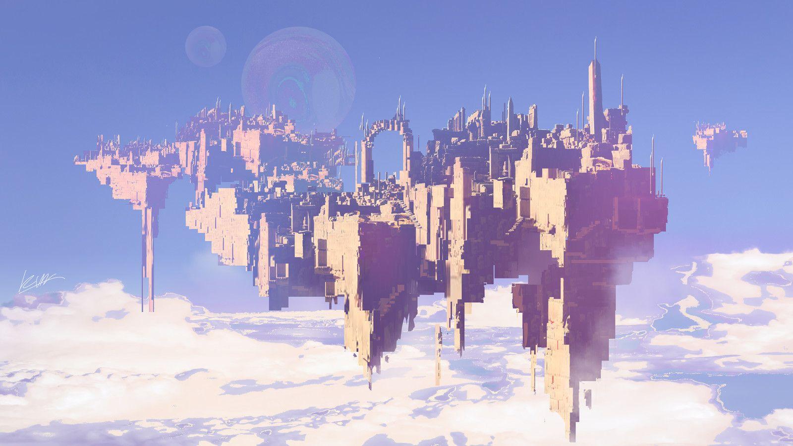 City of Dream, yakun wang on ArtStation at https//www