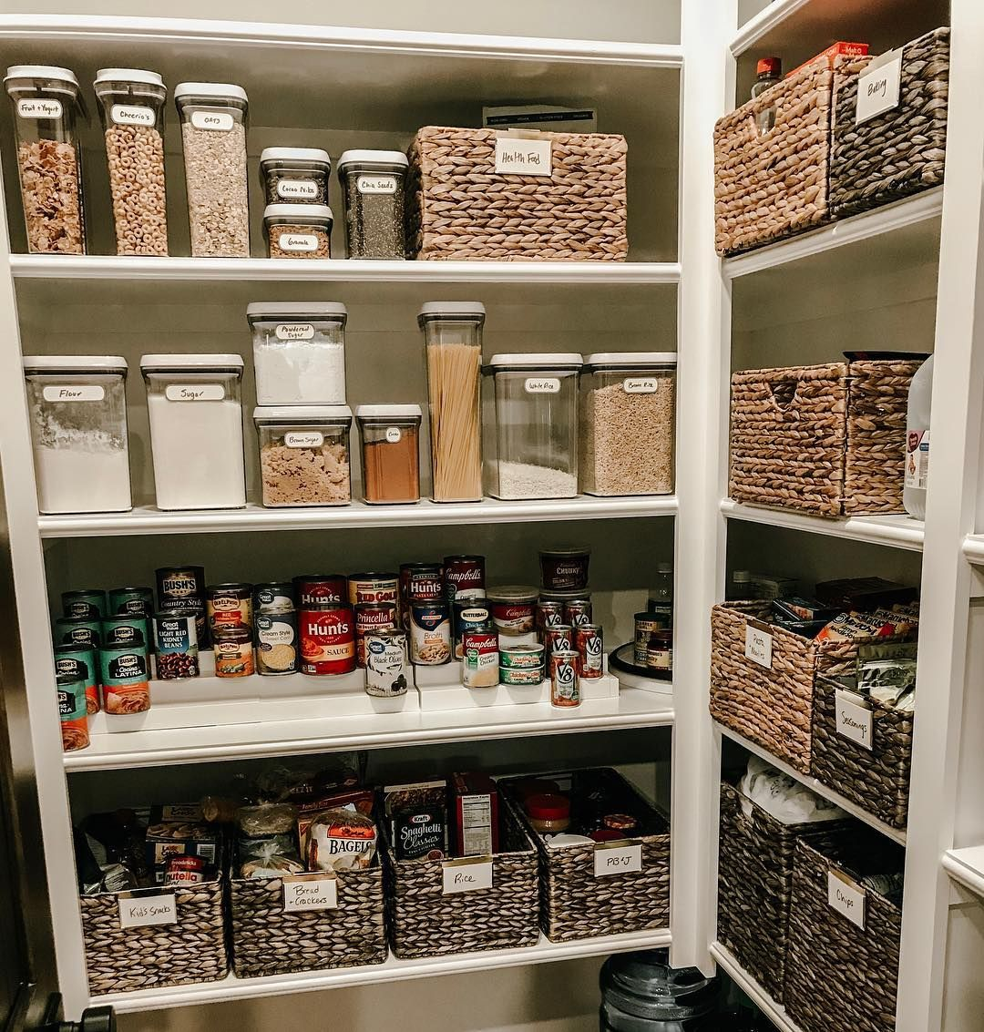 a roundup of some of our favorite pantry transformations complete with before and after photos on kitchen organization before and after id=38596