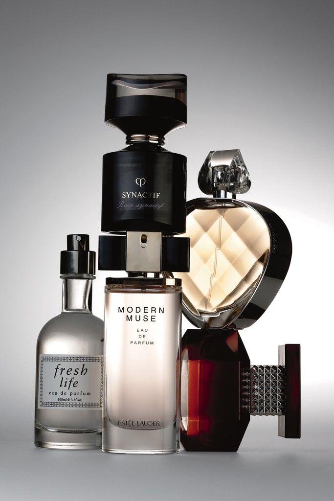 Beauty Scents: Clé de Peau Beauté Rose Synactif; Elizabeth Arden Untold; Avon Passion; Estée Lauder Modern Muse; Fresh Life.