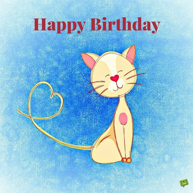 Image result for Happy Birthday cats blue animated