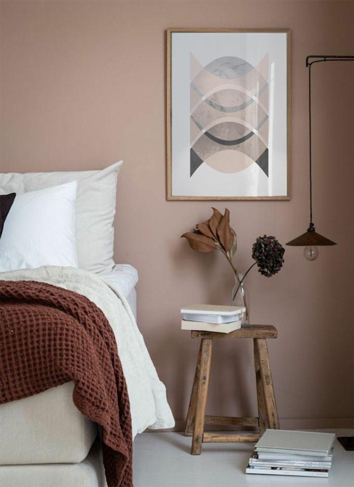 1001+ Ideen für Bilder für Wandfarbe Altrosa, die modern ...