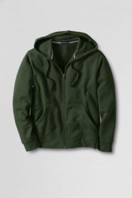 Men's Serious Sweats Full-zip Hoodie Sweatshirt from Lands' End
