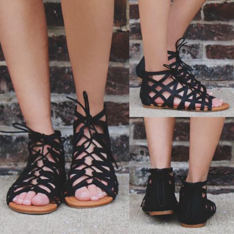 Femme Fatale Sandal - Black