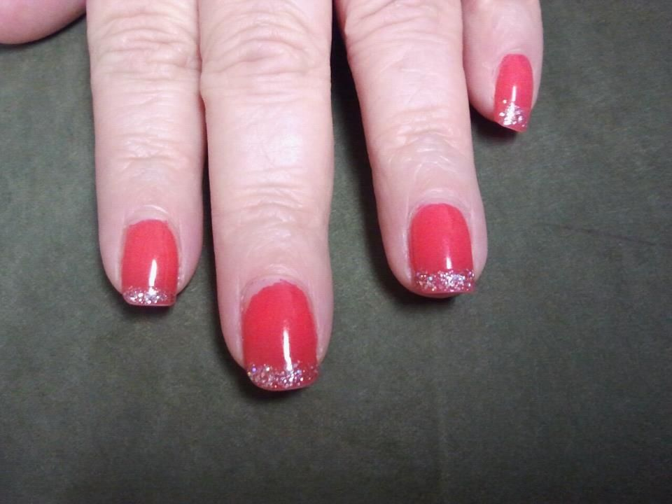 Sinful Colors' Boogy Night and Pure Ice Spitfire Nails