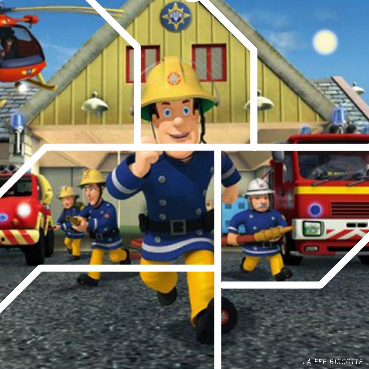 Epingle Par Nicole Marecki Sur Anniversaire Garcon Pompier Sam Le Pompier Pompier Enfant