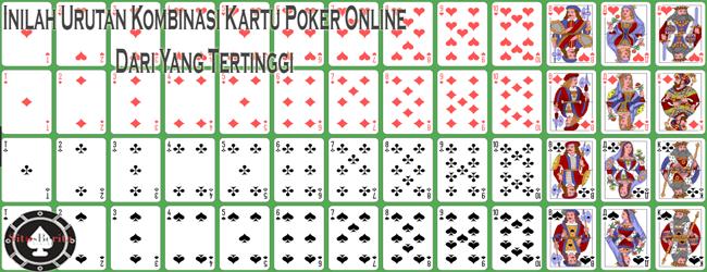 Inilah Urutan Kombinasi Kartu Poker Online Dari Yang Tertinggi