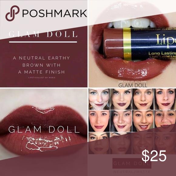 Glam Doll LipSense Neutral earthy brown with slight red undertones  Neutral. Matte LipSense Makeup Lipstick
