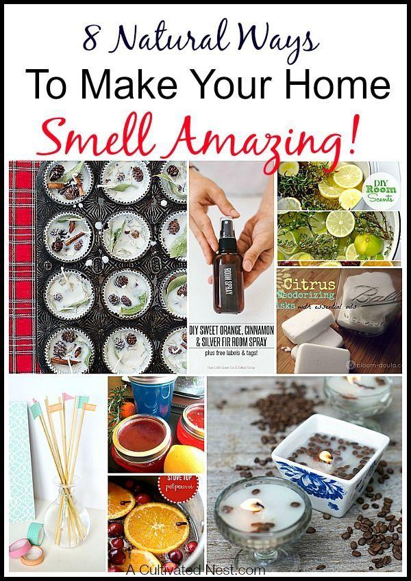 8 natural ways to make your home smell amazing diy home decor rh pinterest com