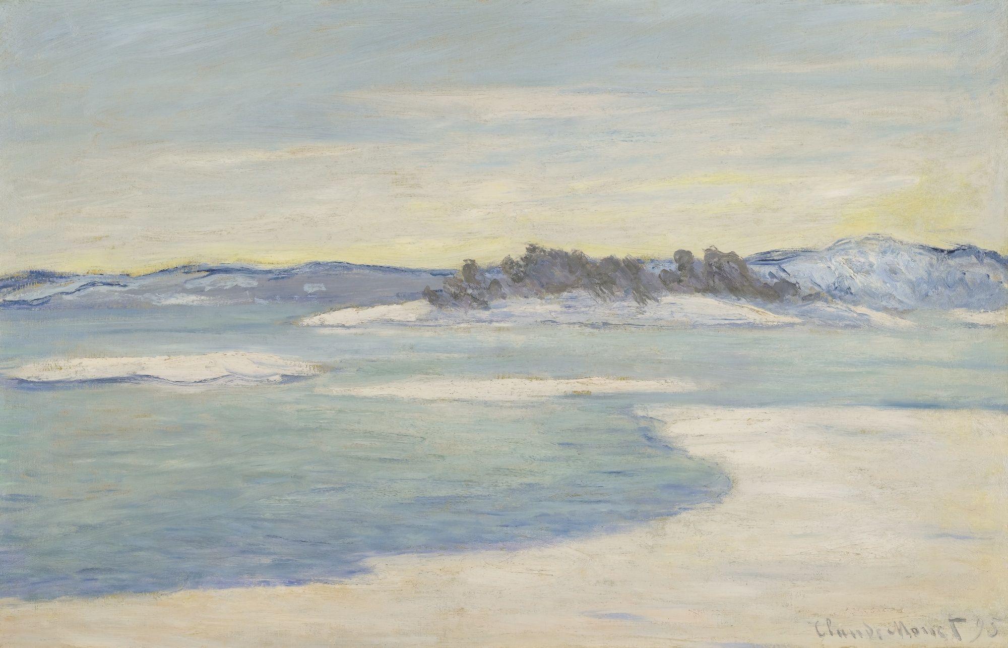 monet, claude au bord du fjord, pr | landscape | Claude monet, Monet, Art