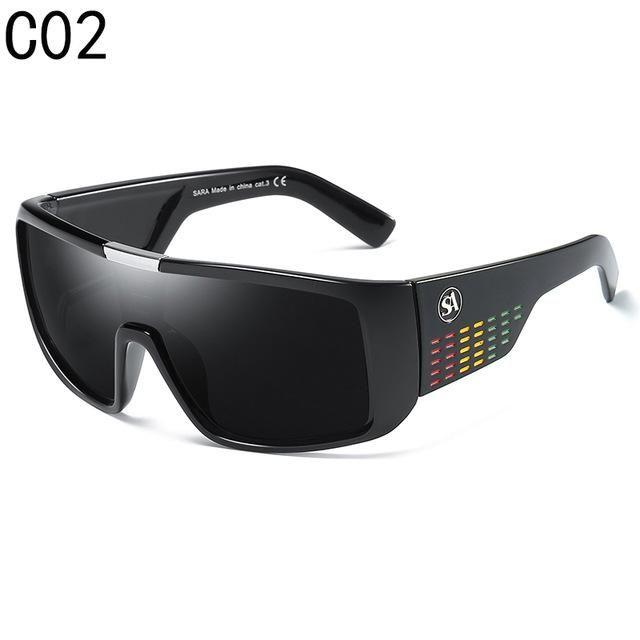 SARA NewYear Dragon Sunglasses Men Sport Goggle Sun
