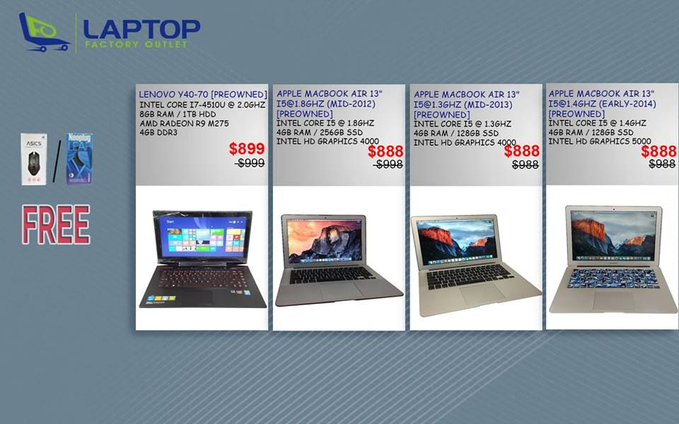 Super nice Best Budget Laptop Deals in Singapore