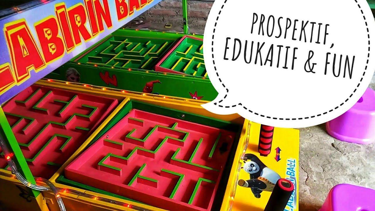 Usaha Permainan Anak Edukatif Labirin Ball Mainan Anak Anak Pengusaha