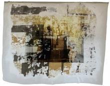 Mariana Mendes Delgado - PORTOGALLO -  Crisis in Decline, 2014,  tecnica mista, cm 110x140