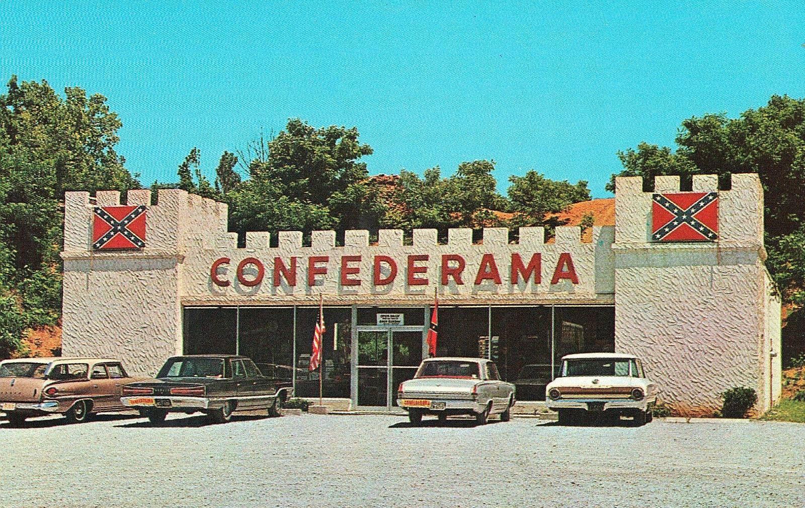 Confederama 1960s St Elmo Chattanooga Tennessee Chattanooga
