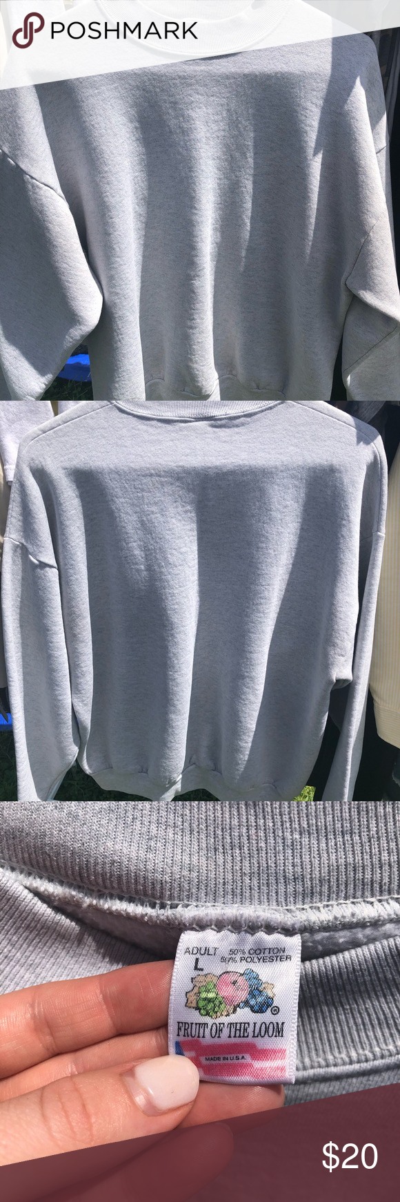 Vintage Fruit of The Loom Crewneck (With images) Fruit